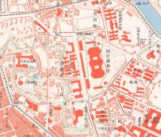 昭和30年代国会議事堂