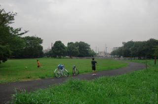 23区中最大規模の面積をほこる「水元公園」の入口付近